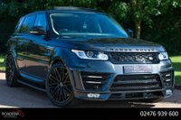 USED 2017 17 LAND ROVER RANGE ROVER SPORT 3.0 SD V6 HSE CommandShift 2 4X4 (s/s) 5dr NAV+360 CAMERA+OPEN PAN ROOF