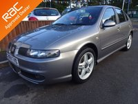 USED 2004 04 SEAT LEON 1.9 TDi CUPRA 5DOOR 148bhp *LOOK* FULL SERVICE HISTORY, READY TO DRIVE AWAY