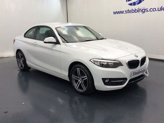 2015 65 BMW 2 SERIES 1.5 218I SPORT 2d 134 BHP COUPE