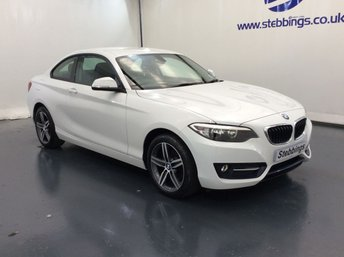 2015 BMW 2 SERIES 1.5 218I SPORT 2d 134 BHP COUPE £11799.00