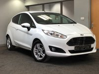 USED 2013 63 FORD FIESTA 1.0 ZETEC 3d 99 BHP +++VERY LOW MILES+++ +++WELL MAINTAINED++++