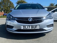 USED 2017 17 VAUXHALL ASTRA 1.6 TECH LINE CDTI S/S 5d 134 BHP