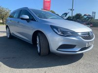 USED 2017 17 VAUXHALL ASTRA 1.6 TECH LINE CDTI S/S 5d 134 BHP Extended Warranties Available