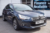 USED 2013 63 CITROEN DS4 1.6 E-HDI AIRDREAM DSTYLE 5d 115 BHP Service History, £30 Tax, Half Lthr Seats, B/tooth, USB