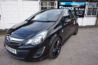 2013 VAUXHALL CORSA 1.2 LIMITED EDITION 3d 83 BHP £4890.00