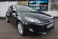 USED 2013 63 FORD FOCUS 1.0 TITANIUM 5d 124 BHP Service History, Appearance Pack, DAB radio, Bluetooth