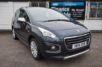 USED 2014 14 PEUGEOT 3008 1.6 E-HDI ACTIVE 5d AUTO 115 BHP Full Peugeot History, 2 Owners, B/tooth, Rear Park Aid