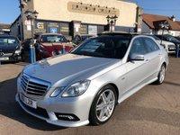 2011 MERCEDES-BENZ E CLASS 3.0 E350 CDI BLUEEFFICIENCY SPORT 4d AUTO 265 BHP £9995.00