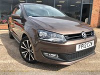 USED 2012 12 VOLKSWAGEN POLO 1.4 MATCH 5d 83 BHP Full Main Dealer Service History! New water pump in 2017 at 48,049 miles!