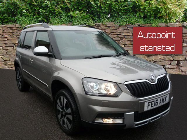 2016 16 SKODA YETI OUTDOOR 2.0 TDI CR [150] LAUREN + KLEMENT 4X4 5DR DSG