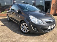 USED 2012 12 VAUXHALL CORSA 1.2 ACTIVE 3d 83 BHP 4 Main Dealer Stamps! 2 Keys!