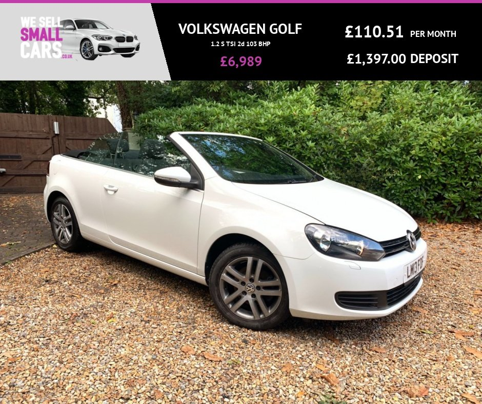 USED 2013 13 VOLKSWAGEN GOLF 1.2 S TSI 2d 103 BHP 2 OWNERS FULL V.W SERVICE HISTORY HEATED SEATS ALLOY WHEELS LOW MILES