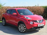 USED 2015 65 NISSAN JUKE 1.2 TEKNA DIG-T 5d 115 BHP * 1 OWNER FROM NEW * 128 POINT AA INSPECTED *LOW MILEAGE CAR *