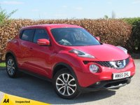 USED 2015 65 NISSAN JUKE 1.2 TEKNA DIG-T 5d * 1 OWNER FROM NEW * 128 POINT AA INSPECTED *LOW MILEAGE CAR *