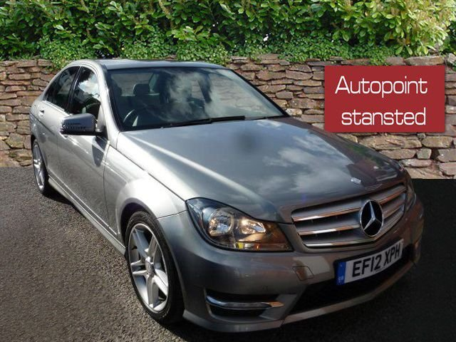 2012 12 MERCEDES-BENZ C CLASS C350 CDI BLUEEFFICIENCY DIESEL AMG SPORT 4DR AUTO