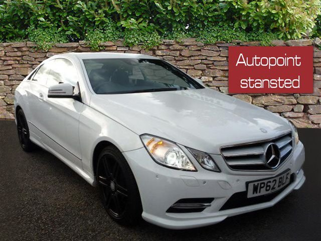2012 62 MERCEDES-BENZ E CLASS E220 CDI BLUEEFFICIENCY SPORT 2DR TIP AUTO