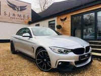 USED 2016 66 BMW 4 SERIES 3.0 435D XDRIVE M SPORT 2d AUTO 309 BHP