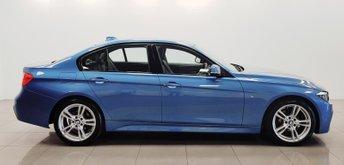 2013 BMW 3 SERIES 2.0 318D M SPORT 4d 141 BHP £10950.00