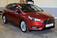 USED 2016 16 FORD FOCUS 1.5 TITANIUM X TDCI 5d 118 BHP Fully Loaded 2016 Ford Focus 1.5TDCI Titanium X with Sat Nav & Full Leather! 1 Owner, Full Service History! Px Welcome and Finance available.