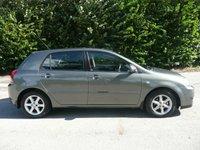 2005 TOYOTA COROLLA 1.6 T2 VVT-I 5d AUTO 109 BHP £1895.00