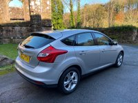 USED 2013 13 FORD FOCUS 1.6 ZETEC 5d 104 BHP only 29000 miles low road tax