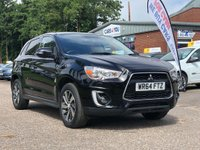 USED 2014 64 MITSUBISHI ASX 1.8 DI-D 3 5d 147 BHP PARKING AID +  PRIVACY GLASS +  MOT JULY 2020 +  17 INCH ALLOYS +  CLIMATE CONTROL +