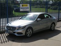 USED 2015 64 MERCEDES-BENZ C CLASS 2.0 C200 SE 4d 184 BHP Full Mercedes Service History & Half Leather