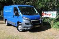 USED 2014 64 PEUGEOT BOXER 2.2 HDI 330 L1H1  Bluetooth, Electric Windows And Mirrors