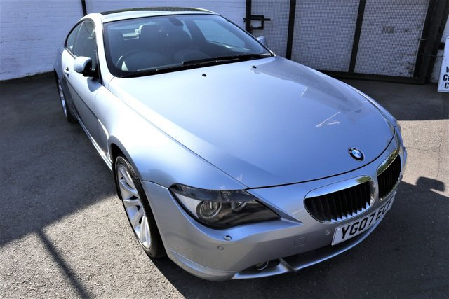 USED 2007 07 BMW 6 SERIES 3.0 630I SPORT 2d AUTO 255 BHP *COUPE,  A REAL HEAD TURNER !*