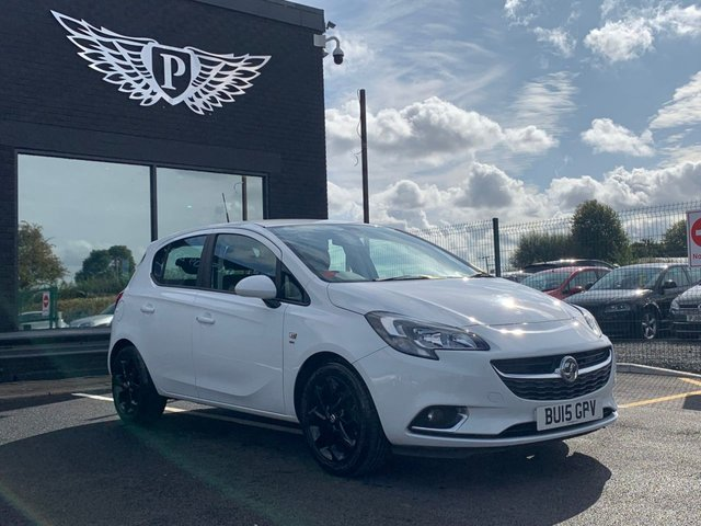 USED 2015 15 VAUXHALL CORSA 1.4 SRI ECOFLEX 5d 89 BHP WARRANTY,  MOT AND SERVICE INCLUDED