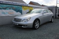 USED 2008 08 MERCEDES-BENZ CLS CLASS 3.0 CLS320 CDI 4d AUTO 222 BHP DIESEL SILVER GENUINE LOW MILEAGE