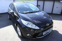 USED 2012 62 FORD FIESTA 1.6 TITANIUM ECONETIC II TDCI 5d 94 BHP * ONE PREVIOUS OWNER - F.S.H *
