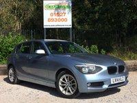 USED 2014 14 BMW 1 SERIES 2.0 120D SE 5dr AUTO £20 Tax, Keyless, BMW SH