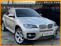 USED 2009 09 BMW X6 3.0 XDRIVE35D 4d AUTO 282 BHP *GREAT SPEC, RARE MINERAL SILVER!*