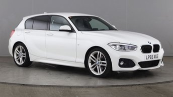 2016 BMW 1 SERIES 2.0 120D M SPORT 5d AUTO 188 BHP £13990.00