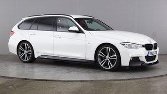 2015 BMW 3 SERIES 2.0 320D M SPORT TOURING 5d AUTO 188 BHP £16990.00