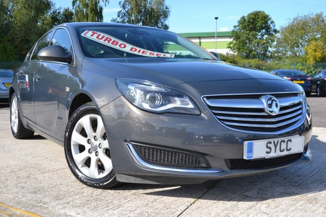 USED 2014 14 VAUXHALL INSIGNIA 2.0 TECH LINE CDTI ECOFLEX S/S 5d 138 BHP SAT NAV~2 KEYS~BLUETOOTH~MEDIA CONNECTIVITY