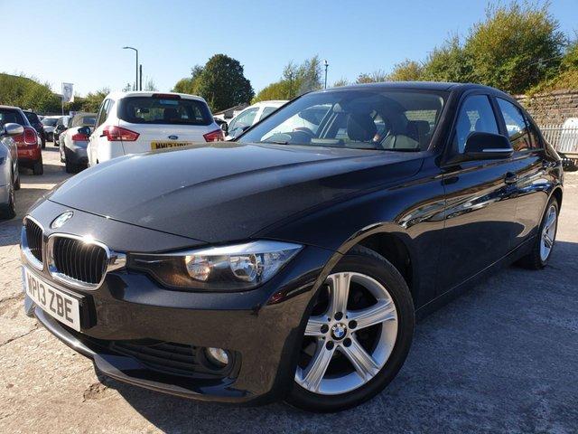 USED 2013 13 BMW 3 SERIES 2.0 316D SE 4d AUTO 114BHP 1 FORM KEEPER+FSH+30 ROAD TAX+SATNAV+BLUETOOTH+MEDIA+CLIMATE+USB+