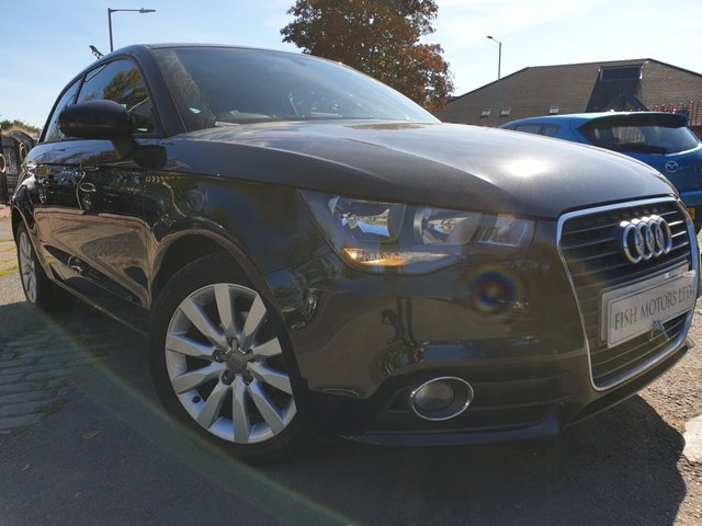 USED 2014 14 AUDI A1 1.2 TFSI SPORT 3d 84BHP 1FORM KEEPER+2KEYS+PHONE+USB+30 ROAD TAX+ALLOYS+CLIMATE+ELECS+COMFORT PACK+PHONE PREP BLUETOOTH+AUDI MEDIA MUSIC INTERFACE+NAVIGATION PREP+ACOUSTIC PARK REAR+