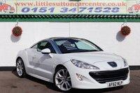2012 PEUGEOT RCZ 2.0 HDI GT 2d 163 BHP £7300.00