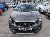 2016 PEUGEOT 2008 1.2 PURETECH ALLURE 5d 82 BHP IN METALLIC GREY WITH 50,500 MILES AND A FULL SERVICE HISTORY £8499.00