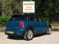 USED 2011 61 MINI COUNTRYMAN 1.6 COOPER S 5dr Cruise, Bluetooth, Isofix