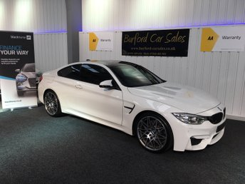 2016 BMW M4 3.0 M4 COMPETITION PACKAGE 2d AUTO 444 BHP £33990.00