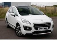 2015 PEUGEOT 3008 1.2 PURETECH S/S ACTIVE 5d 130 BHP IN METALLIC WHITE WITH 35,000 MILES AND A FULL SERVICE HISTORY! £7999.00