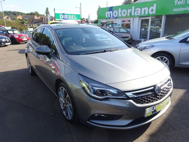 USED 2017 17 VAUXHALL ASTRA 1.6 ELITE NAV CDTI S/S 5d 134 BHP **JUST ARRIVED **BUY NOW PAY NEXT YEAR**SAT NAV**