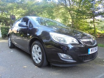2011 VAUXHALL ASTRA 1.6 EXCLUSIV 5d 113 BHP £2500.00