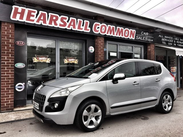 USED 2010 60 PEUGEOT 3008 1.6 EXCLUSIVE HDI 5d AUTO 110 BHP