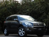 USED 2009 59 TOYOTA RAV4 2.2 XT-R D-4D 5d 148 BHP HUGE SPEC LEATHER A/C FSH VGC