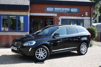 USED 2017 67 VOLVO XC60 2.4 D4 SE LUX NAV AWD 5d AUTO 187 BHP Black with black leather & navigation