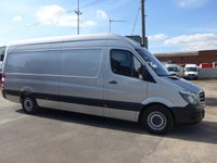 2017 MERCEDES-BENZ SPRINTER 314CDI MWB, 140 BHP [EURO 6], LOW MILES £17995.00